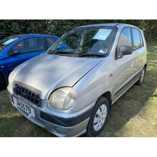 27 - A 2001 Hyundai Amica Si 1.0 five door hatchback (automatic) J45579, odometer reading 50,889 miles...