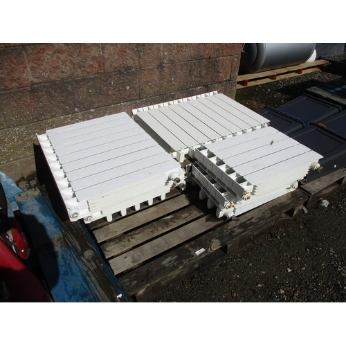 42 - A quantity of Faral tropical radiators