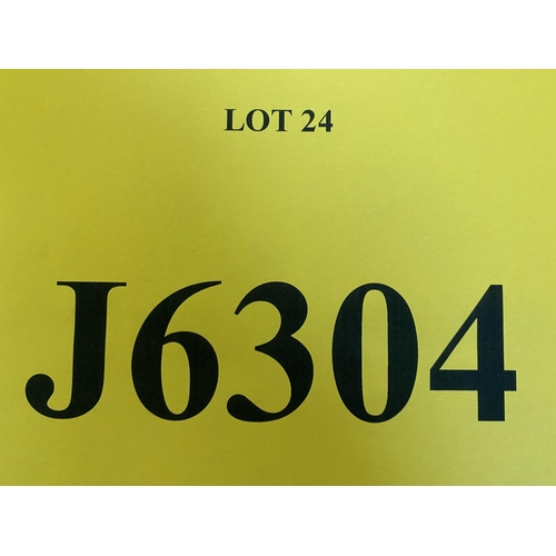 24 - J6304 - a four digit Jersey registration mark (purchaser must be ordinarily resident in Jersey C.I.)