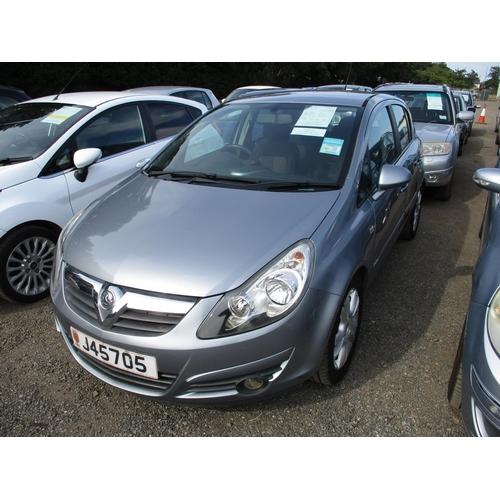 10 - A 2007 Vauxhall Corsa SXi 1.4 five door hatchback (manual) J45705, odometer reading 42,301 miles