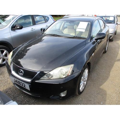 12 - A 2006 Lexus IS 250 SE L 2.5 four door saloon (automatic) J41832, odometer reading 77,740 miles - ne...