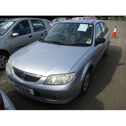 17 - A 2002 Mazda 323 GXi 2.0 TDi five door hatchback (manual) J23320, odometer reading 105,759 miles