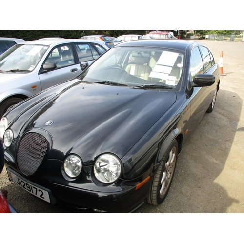 21 - A 2001 Jaguar S-Type V6 Sport 3.0 four door saloon (automatic) J129172, odometer reading 58,863 mile...