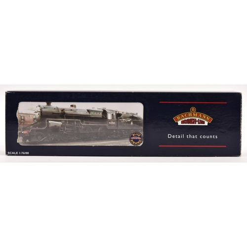 40 - Bachmann Branchline OO gauge BR Hughes Crab 2-6-0 locomotive (32-176). 42765, in lined black livery....