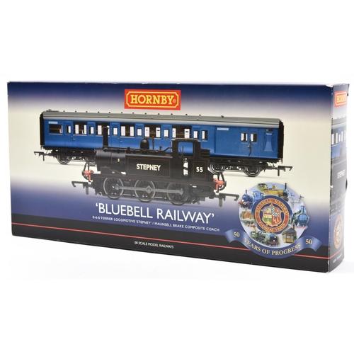 55 - Hornby Railways 00 gauge 'Bluebell Railway' 50 Years of Progress Train Pack R2891. 1/1000 produced, ...