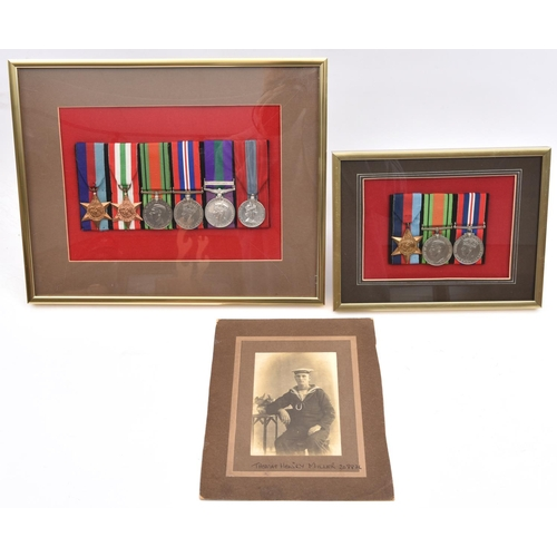 414 - A most interesting family group of medals to a father and two sons comprising: (a) Five: 1914-15 sta...