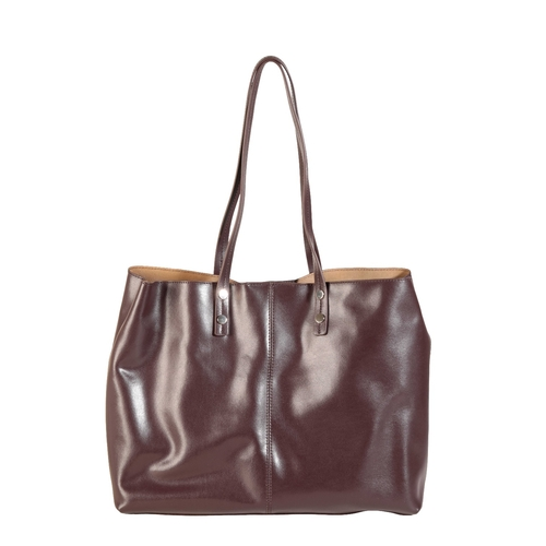 456a - PIERRE CARDIN HANDBAG with printed a Pierre Cardin design and saddle leather trim and another simila...
