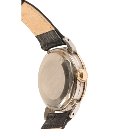 25 - MOVADO CALENDOMATIC SPORT GENTLEMAN'S STAINLESS STEEL & GOLD PLATED WRIST WATCH with two-tone cream ...