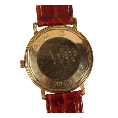 3 - BOODLE AND DUNTHORNE 18CT GOLD GENTLEMAN'S WRIST WATCH with automatic movement the silver dial with ...