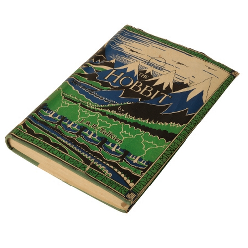 46 - TOLKEIN, J.R.R. 'The Hobbit, or There and Back Again' 1st ed., 1st impression, pub. Allen & Unwin, 1...