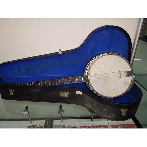 279 - Vintage 5 string Banjo Dunn & sons Banjo...