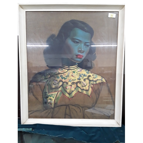 273 - Original 1970's Tretchikoff ' The Chinese Girl'...