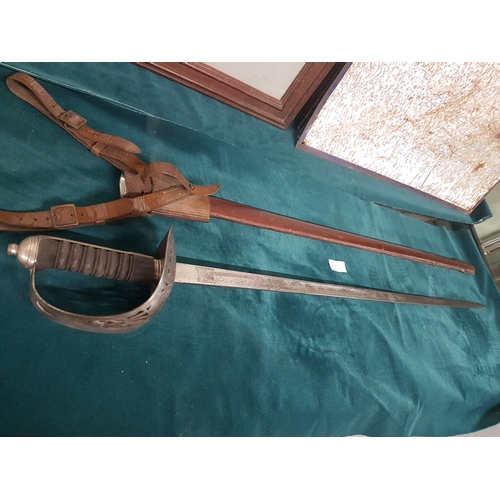 250A - WW1 British officer sword...
