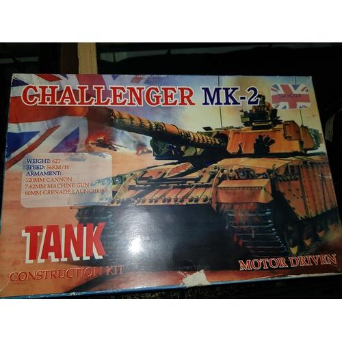 74 - Challenger Tank Motorised unstarted...