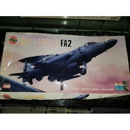 76 - Airfix BAe Sea Harrier FA2 1/48...