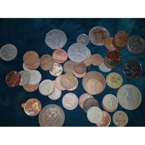 223 - Pre & Post decimal coins...