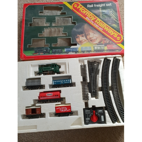 18 - Freight train set...