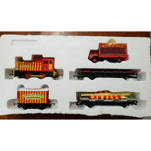38A - Hornby Circus train set...