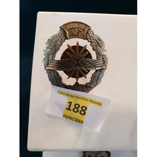 188 - Russian Police Badge...