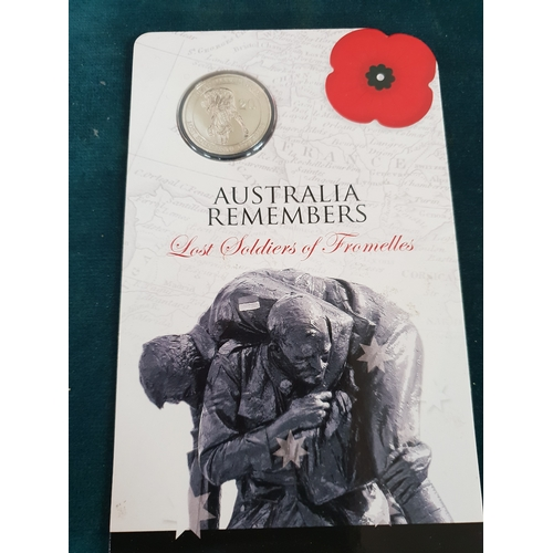 235 - 2010 Australia mint lost soldiers of Fromelles coin...