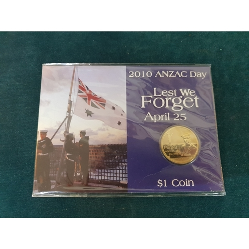 236 - 2010 Anzac Day commemorative coin...