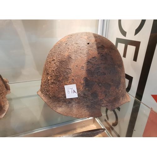 67A - WW2 Russian helmet...