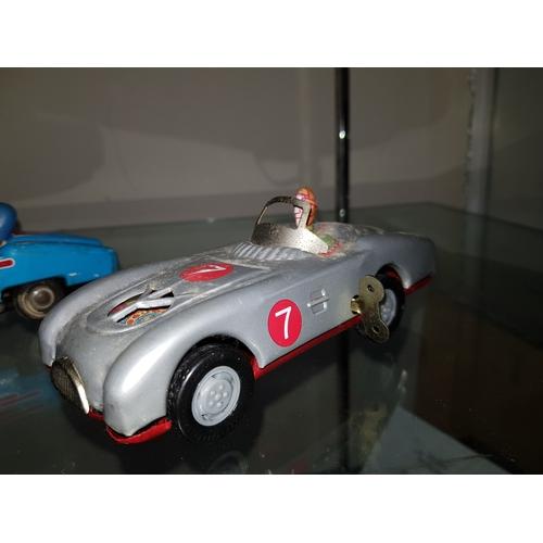 145 - tin plate car...