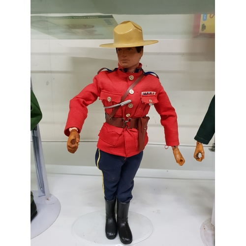 178 - Vintage Action man Mountie...