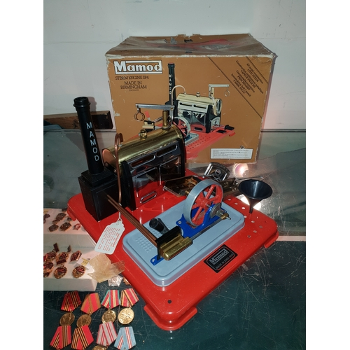97 - Vintage boxed Mamod engine excellent condition...
