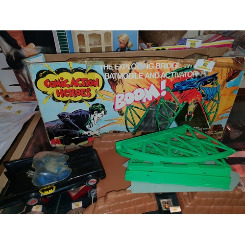 26 - Mego Batman Boom Part set in box...