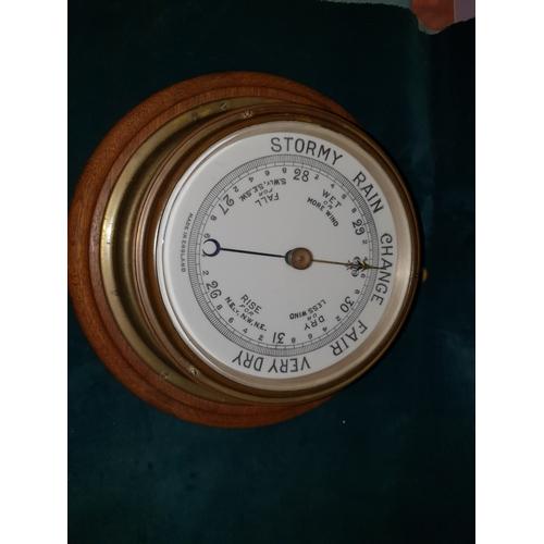 32 - Large Barometer...