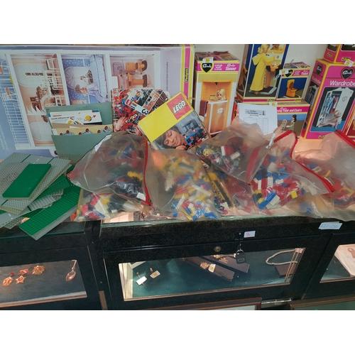 46 - Massive load vintage lego and instructions...