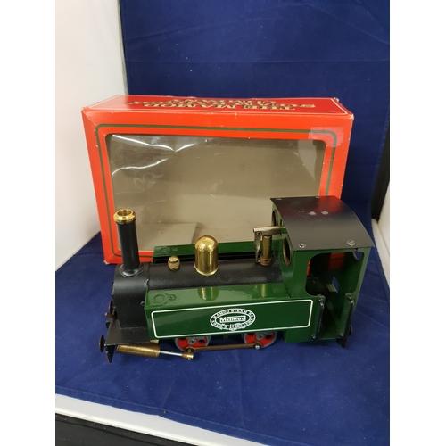 131 - Mamod Live Steam Railway SL1 Train Boxed O Guage...