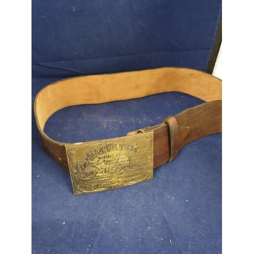 5 - Jack Daniels Belt & Buckle...