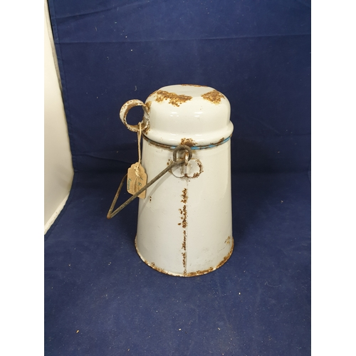 6 - French Enamel Canteen...