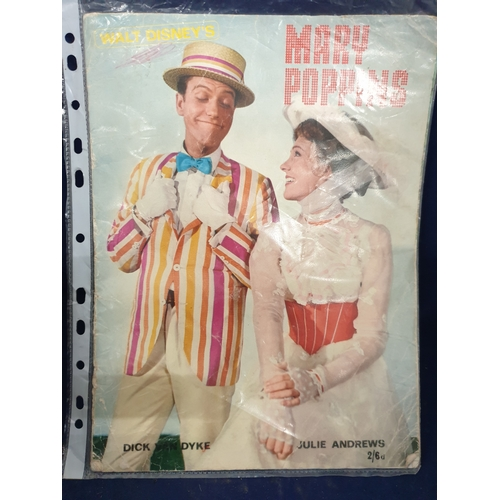 8 - Original 1964 Mary Poppins Programme...