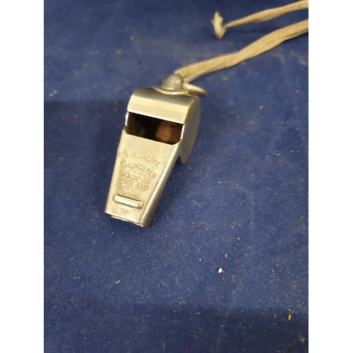 43 - Vintage Acme Thunder Whistle...