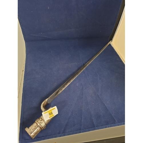46 - Musket Bayonet...