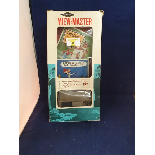 13 - Boxed 1970s view master...