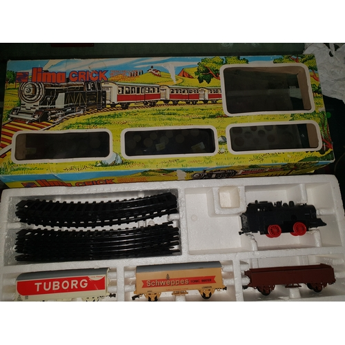 14 - Vintage Lima Battery train set...