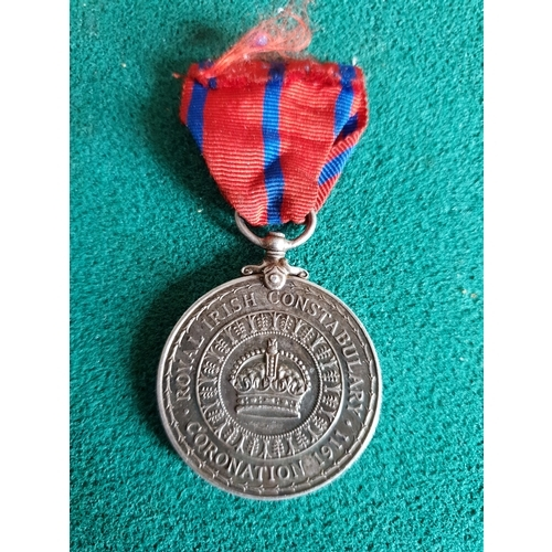 206A - Royal Irish Constabulary Coronation Medal 1911. 572 issued...