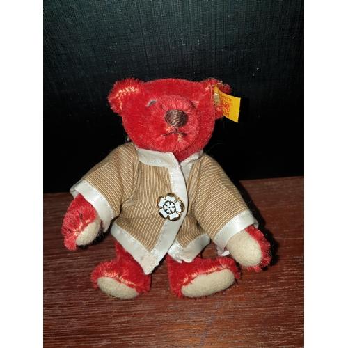31 - Stieff Bear Red 027369...