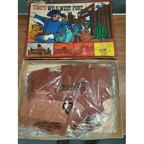 47 - Timpo Toys – Wild West Fort in original Box early 1970s...