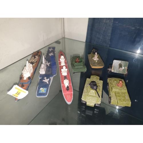 20 - Matchbox seaking ships etc...