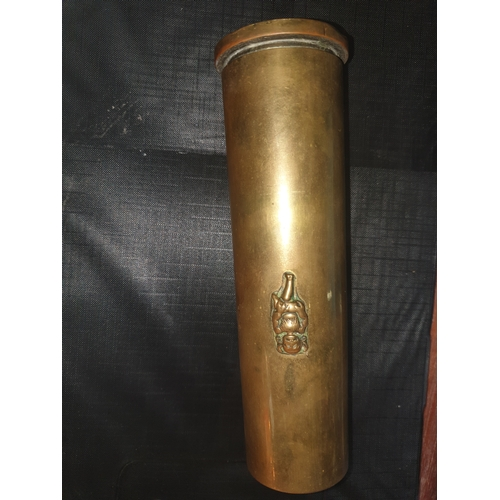 5 - 1942 WW2 Trench art...