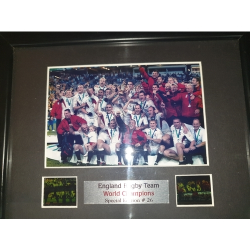 9 - Collectors World cup Rugby photo & Negatives authenticated...