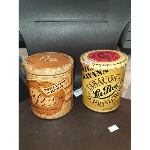 28 - Old Tobacco & Tea Tins...