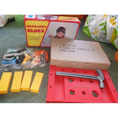 31 - Mint unopened Hong Kong Junior Bench boxed 1970s...