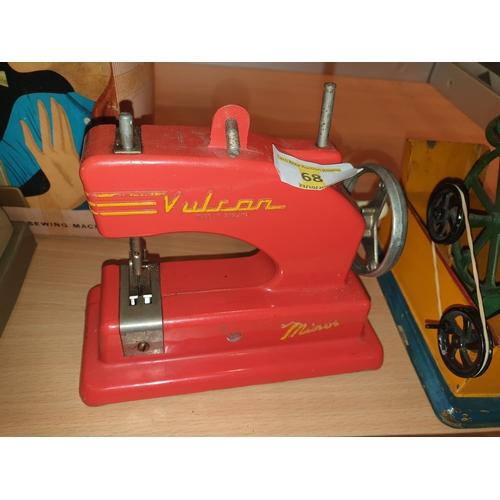 68 - Vulcan sewing machine...