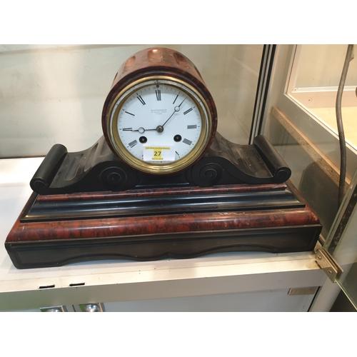 27 - Marble clock...